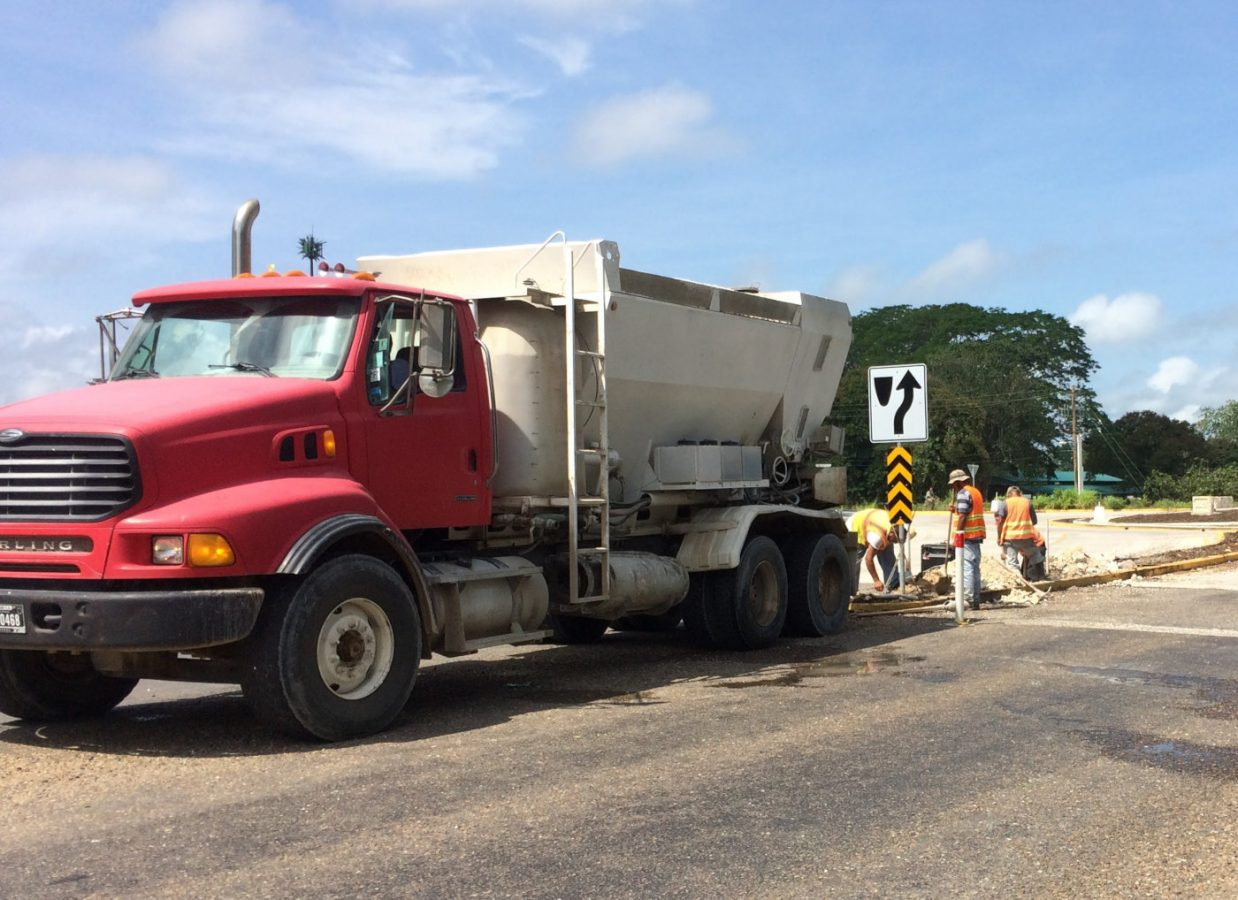 Cement concrete Truck