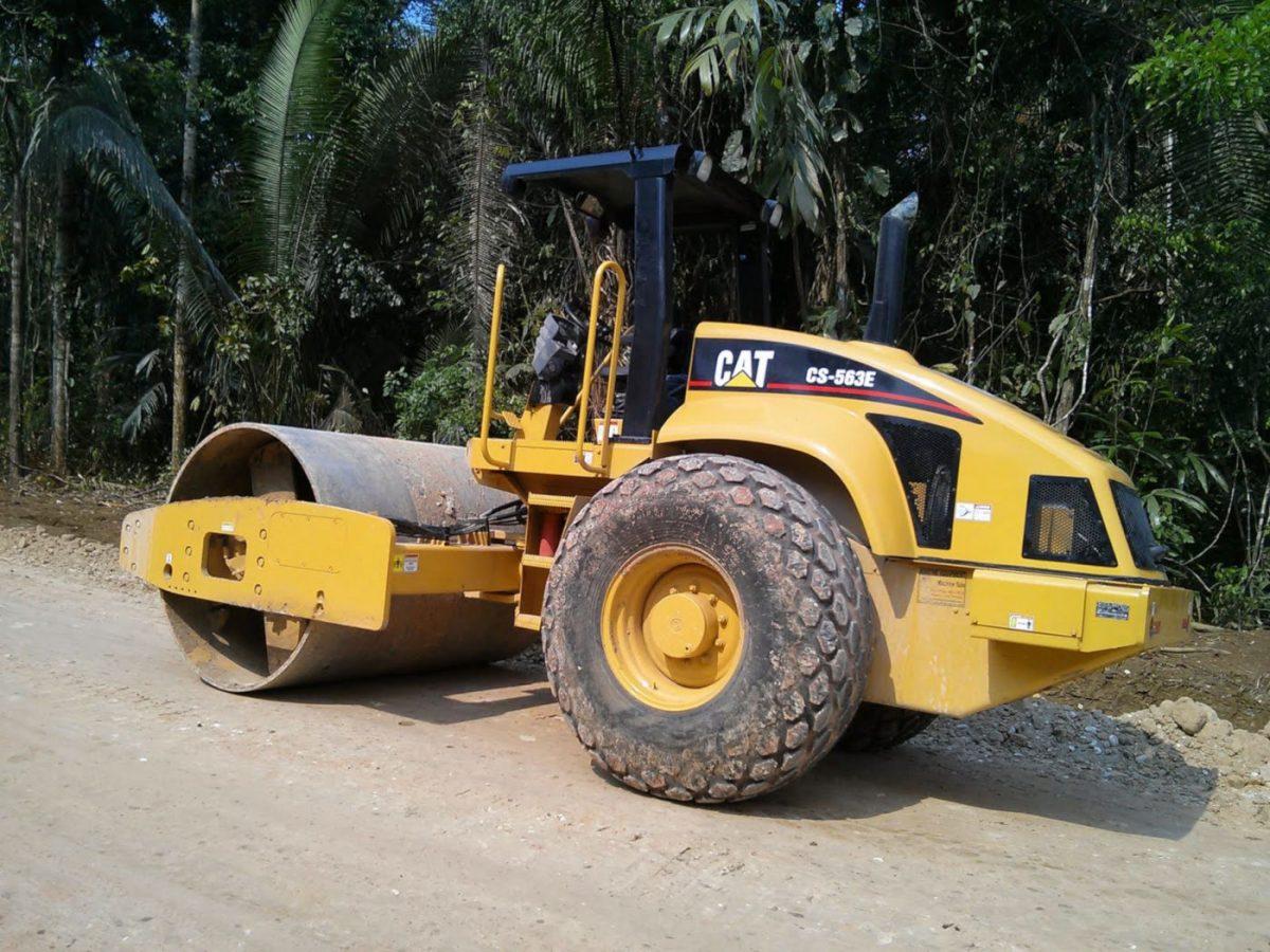 Caterpillar Compactor CS563E