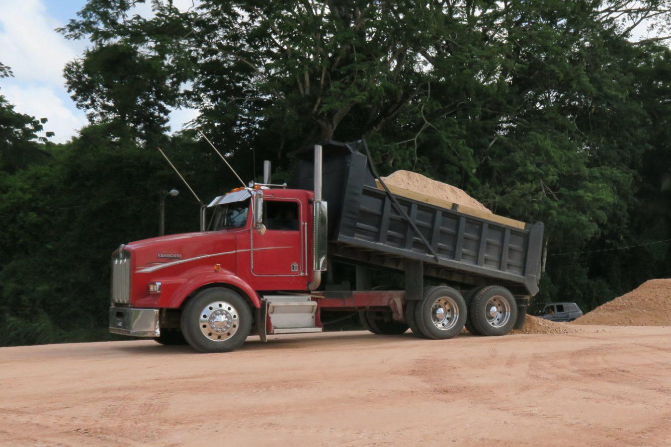 Kenworth T800 15CY Dump Truck