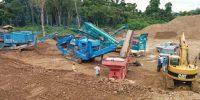 Belize Roadway Construction - Hopkins road upgrade paving