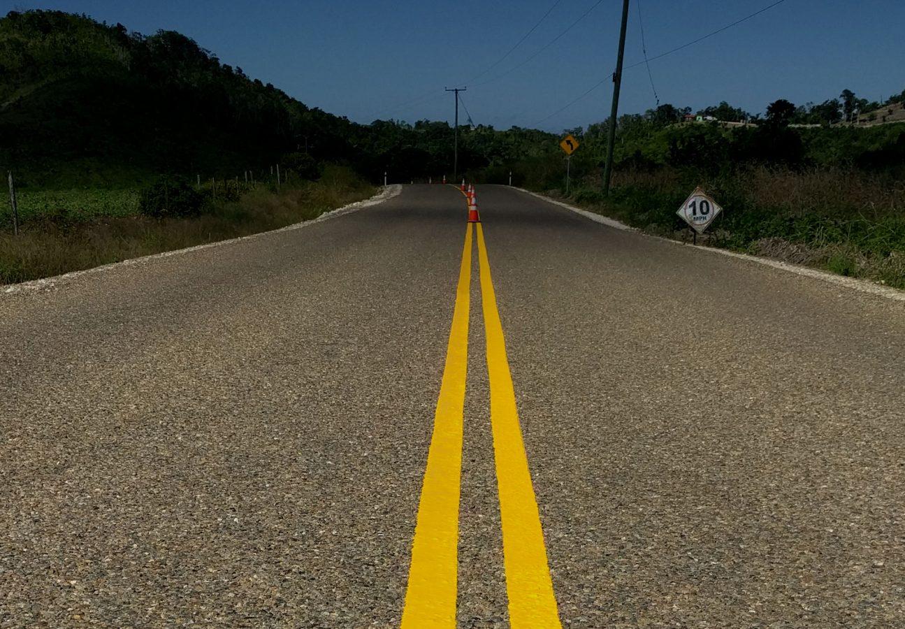 belize road construction