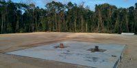 Belize Roadway Construction Oil site preparation road construction
